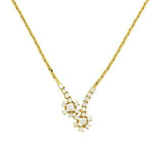 Diamond Floral Cluster