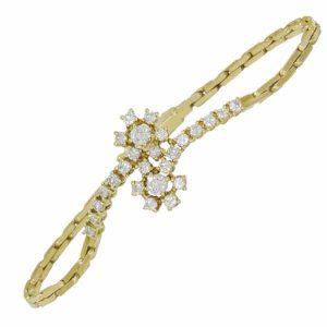 Floral Diamond Cluster