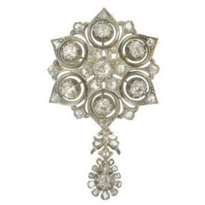 Diamonds Brooch/Pendant