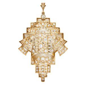 14ct Gold & Diamond Pendant