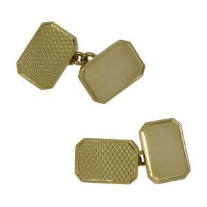 18ct Gold Cufflinks