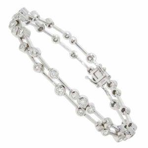 Diamond Bubble Bracelet