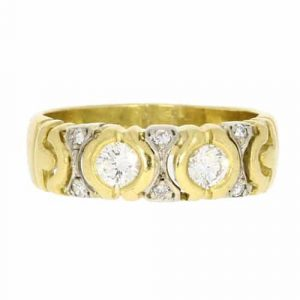 Diamond Set Band Ring