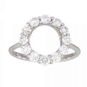 Open Circle Dress Ring