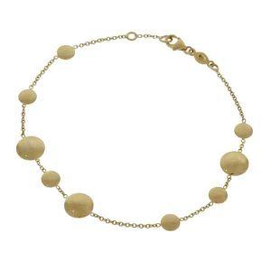 9ct Disc Bracelet