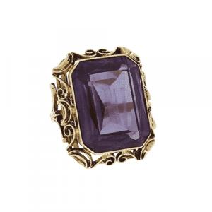 14ct Handmade Corundum Dress Ring