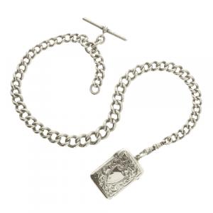 Sterling Silver Albert Chain