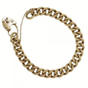 9ct Rose Gold Curb Bracelet