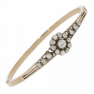 Victorian Diamond Bangle