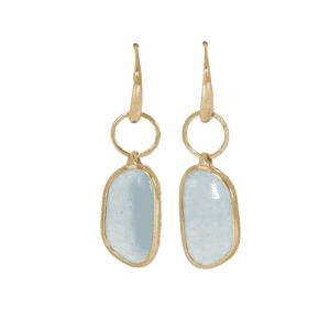 Aventurine Quartz Drop Earrings