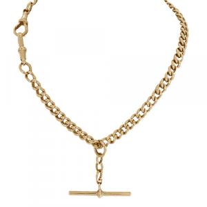 Rose Gold Albert Chain