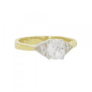Certified Diamond 3 Stone Ring