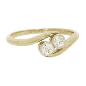 'Moi et Toi' Diamond Ring