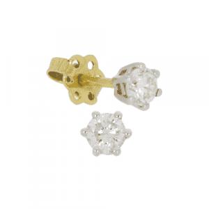 0.54ct Diamond Stud Earrings