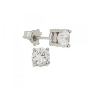 1.04ct Diamond Stud Earrings