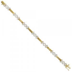 18ct Gold & Diamond Bracelet