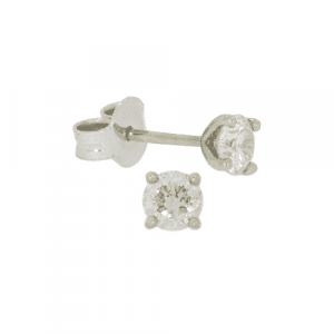 0.59ct Diamond Stud Earrings