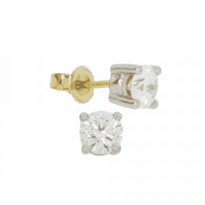 1.00ct Diamond Stud Earrings