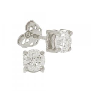 2.02ct Diamond Stud Earrings