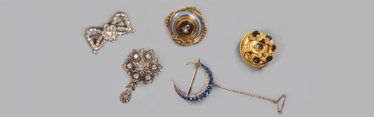 Antique and Period brooches