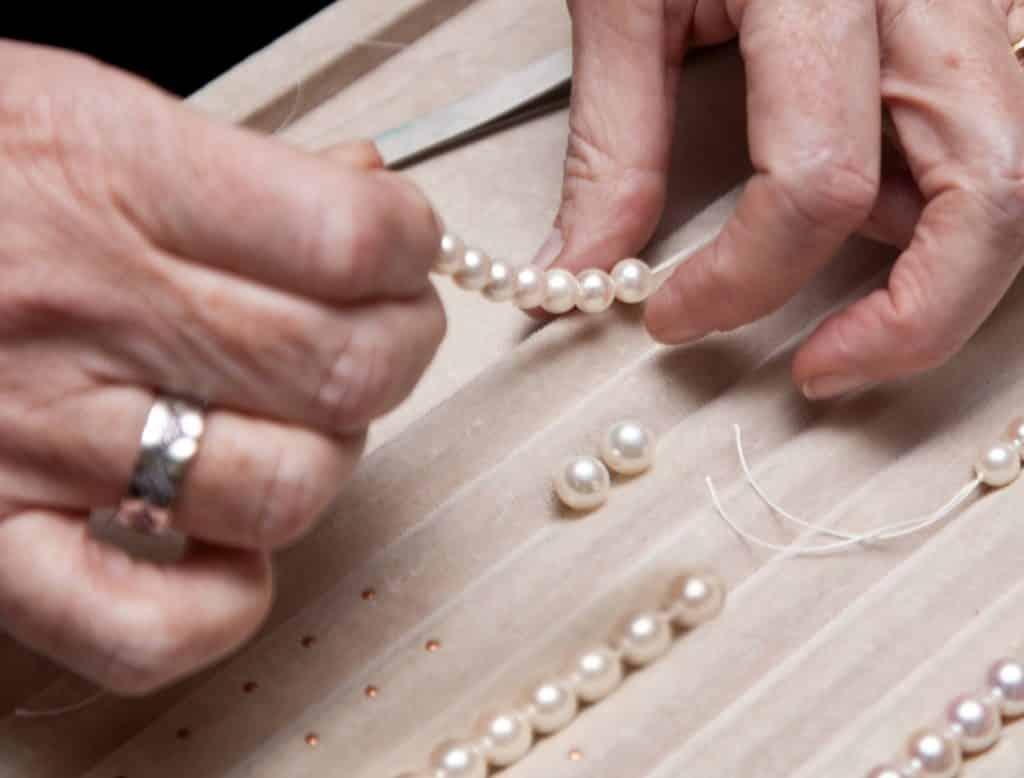 Pearl threading